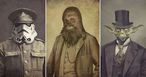 Illustrator Terry Fan Reimagines Star Wars Characters As