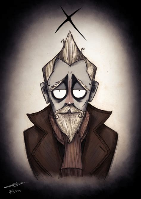 If Doctor Who crossed over with Tim Burton, we'd probably