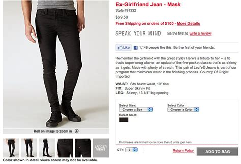 Levi's Debuts Ex-Girlfriend Jeans (PHOTOS, POLL) | HuffPost