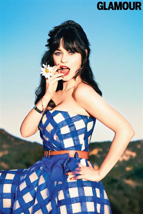"""Zooey Deschanel on Her Signature Hairstyle: """"People Know"""