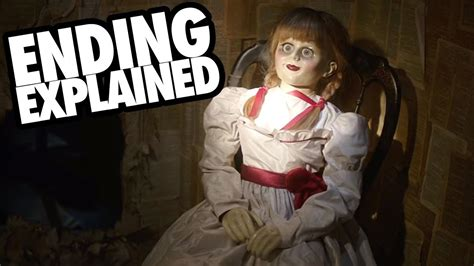 ANNABELLE CREATION (2017) Ending Explained + Conjuring