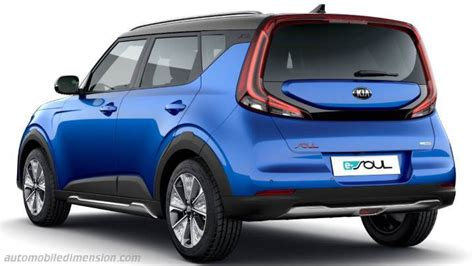 Kia e-Soul dimensions and boot space - New 2020 and previous