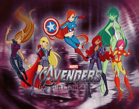 Winx club & avengers crossover (With images)   Winx club