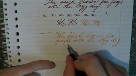 How to Improve your Handwriting with Fountain Pens - YouTube