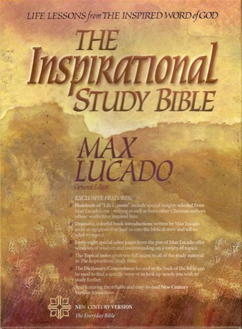 The Inspirational Study Bible New Century Version: Max