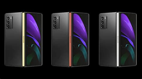 Check Out Almost All Samsung Galaxy Z Fold 2 Hinge Colors