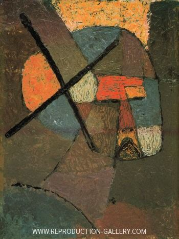 Struck from the List 1933 Painting By Paul Klee
