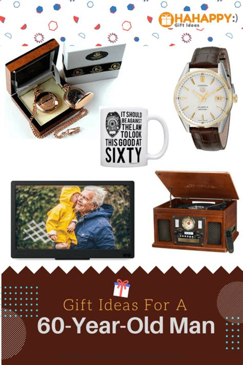 15 Unique Gift Ideas For Men Turning 60   HaHappy Gift Ideas