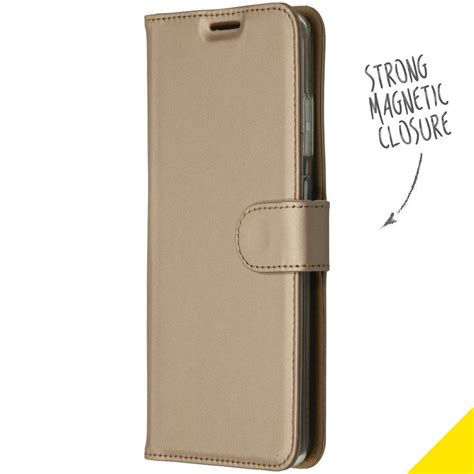 Accezz Booklet Wallet Gold Samsung Galaxy S20 Ultra | More
