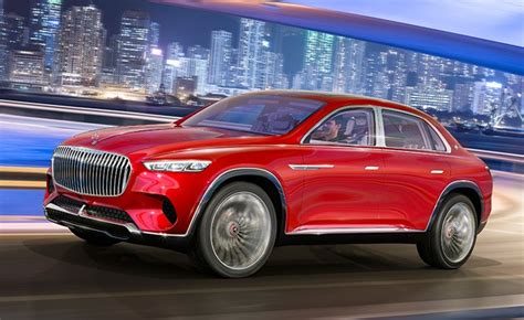 Mercedes-Maybach's SUV Concept is a Lifted S-Class Sedan