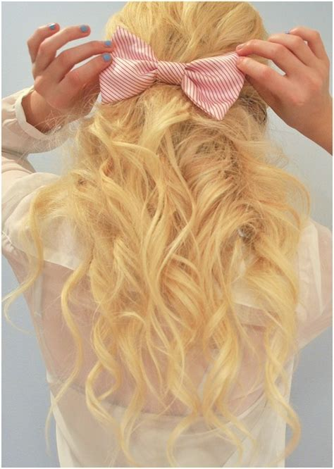 Cute, Blonde, Long Hair for Girls: Curly Hairstyles