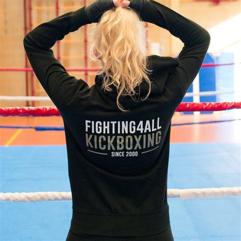 Vrouwen Hoodie - Fighting4All - Fighting4All